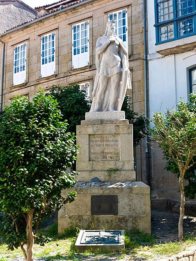 Alfonso II El Casto, primer peregrino que visitó la tumba del Apóstol Santiago