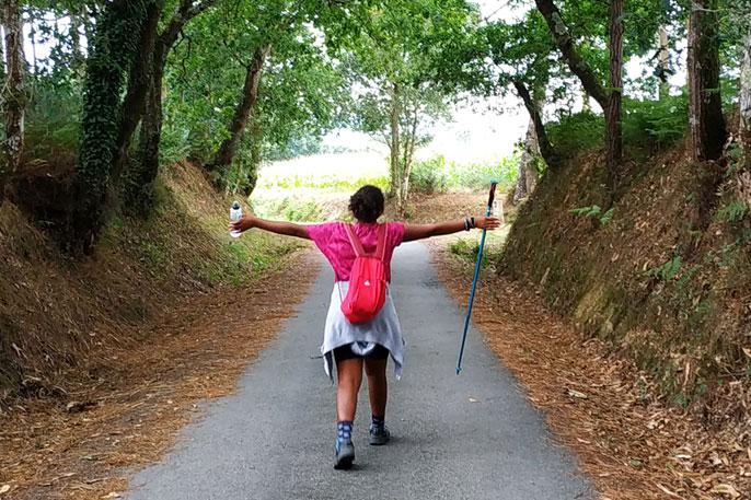 El Camino ofrece una gran sen sensación de libertad en un entorno sin riesgos