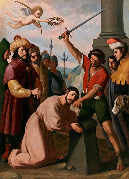 Martirio de Santiago Apóstol, de Zurbarán.